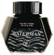 Чернила во флаконах 51061 Waterman Black (S0110710)