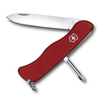 Нож Victorinox 0.8923 Cowboy солдатский с фиксатором, 111мм, красный