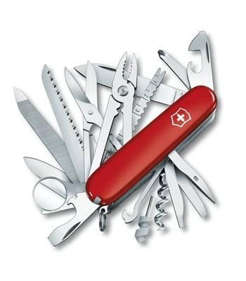 Нож Victorinox 1.6795 SwissСhamp, 91мм, красный