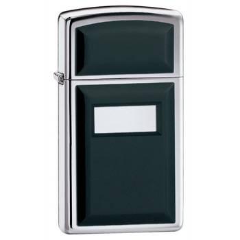 Зажигалка Zippo 1655  Black Ultralite Slim