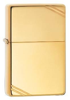 Зажигалка Zippo 270 Vintage Series 1937 Replica High Polish Brass