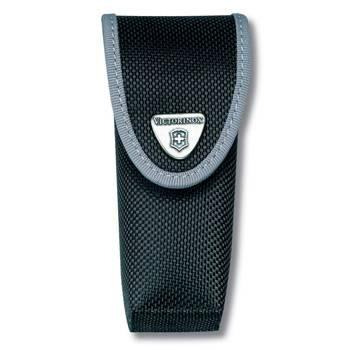 Чехол на ремень Victorinox (для ножа 111мм) 4.0547.3 (толщ 2-4 уровня с отд д/фонаря, нейлон чёрный)