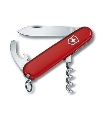 Нож Victorinox 0.3303 Waiter офицерский, 84мм, красный