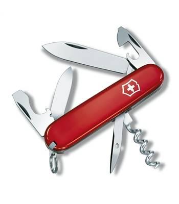 Нож Victorinox 0.3603 Tourist офицерский, 84мм, красный