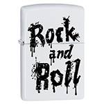 "Зажигалка""ZIPPO"" 29538 Rock and Roll White Matte"