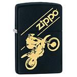 """Зажигалка""""ZIPPO"""" 29528 Moto Cross Black Matte"""