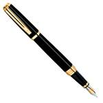 Перьевая ручка Waterman Exception Ideal Black GT (S0636780 F, S0636790 M)