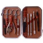 Маникюрный набор профессиональный Zinger zMSFE 801-SM (10 предметов)