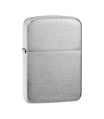 "Зажигалка""ZIPPO"" 1941 Replica Brushed Chrome"