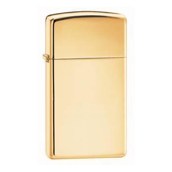 Зажигалка Zippo 1654B High Polish Brass Slim