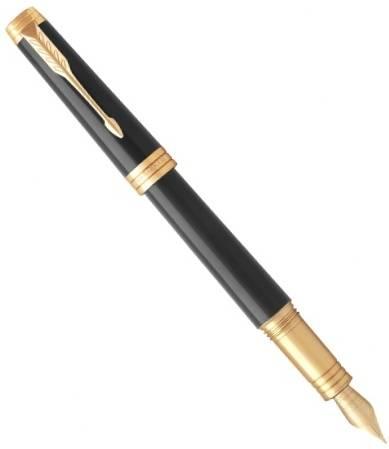 Parker Premier F560 Lacque Black GT перьевая ручка (S0887820,S0887810)