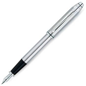 Перьевая ручка Cross Townsend Lustrous Crome (536-FS)