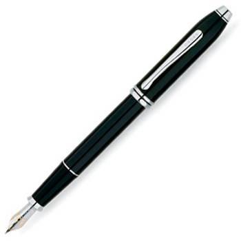 Перьевая ручка Cross Townsend Black RT (AT0046-4FD)