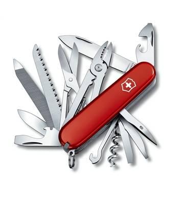 Нож Victorinox 1.3773 Handyman офицерский, 91мм, красный