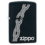 Зажигалка Zippo 29540 Broken Chain Black Matte