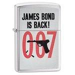Зажигалка Zippo 29563 James Bond Brushed Chrome