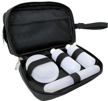 """Несессер Wenger 8756213 """"Deluxe toiletry kit"""" черный, 26х17х18см"""