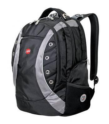 """Рюкзак Wenger 1191215 """"Zoom"""" черный/серый с отделением для ноутбука 15"""" 36x21x47cm (32л)"""