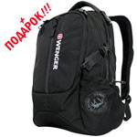 "Рюкзак Wenger 12722215 ""120 Pack"" для ноутбука черный 35x17x49cm"