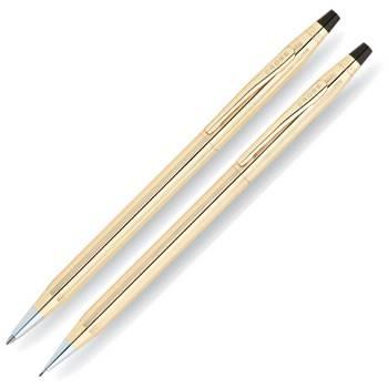 Набор Cross Century Classic Rolled Gold  шариковая ручка+карандаш (450105)