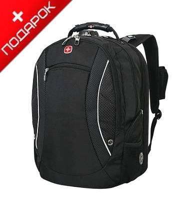 """Рюкзак Wenger 1155215 """"Scansmart"""" черный с отделением для ноутбука 17"""" 36х23х48см (40л)"""