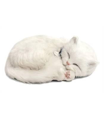"""Игрушка дышащая Perfect Petzzz XP92-13 """"Котенок Короткошерстный белый с дыханием"""""""