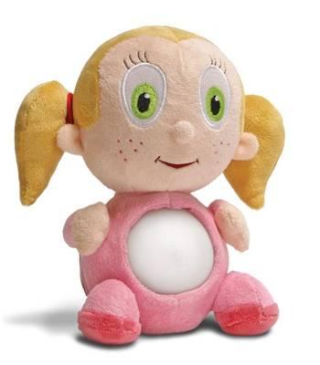 """Детский ночник - светильник Nite Nite Lightzzz NNL-0002 Мягкая игрушка """"Девочка Бетти"""""""