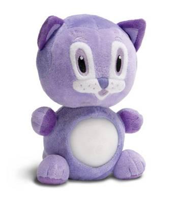 """Детский ночник - светильник Nite Nite Lightzzz NNL-0004 Мягкая игрушка """"Котёнок Перчик"""""""