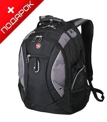 """Рюкзак Wenger 1015215 """"Neo"""" черный/серый с отделением для ноутбука 15"""" 36x23x47cm (39л)"""