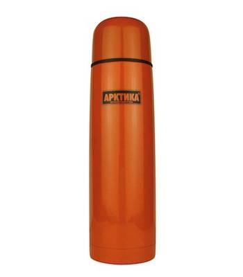 """яТермос """"Арктика"""" с узким горлом 102-500 (классический оранжевый, 500 мл)"""