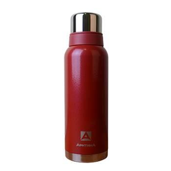 """Термос """"Арктика"""" с узким горлом 106-1200 (американский дизайн, красный, 1200 мл)"""