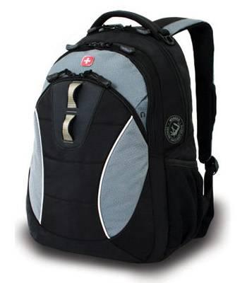 """Рюкзак Wenger 16062415 черный/серый, с отделением для ноутбука 15"""" 32х15х46 см (23л)"""