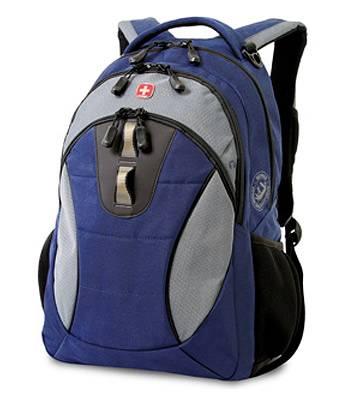 """Рюкзак Wenger 16063415 синий/серый/черный с отделением для ноутбука 15"""" 32х15х46 см (23л)"""