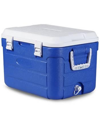 Изотермический контейнер Арктика 2000-30 с аккумулятором холода синий 30литров(52х33х34см) вес3кг