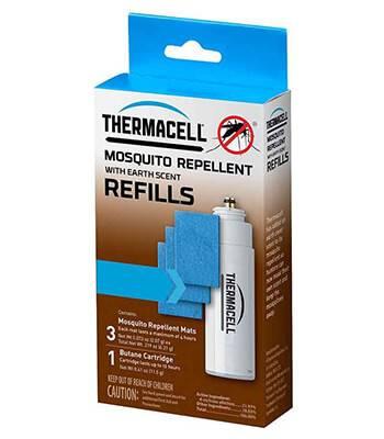 Набор запасной с запахом прелой листвы ThermaCELL Refills MRE00-12 ( 1 баллон + 3 таблетки)