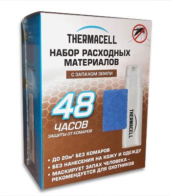Набор запасной с запахом прелой листвы ThermaCELL Refills MRE400-12 ( 4 баллона + 12 таблеток)