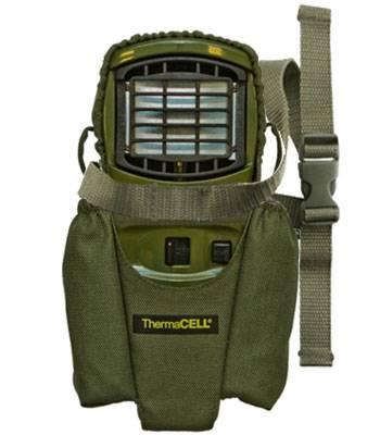 Чехол для прибора ThermaCELL (оливковый) MR H12-00 (крепёж на ремнях, полиэстер)