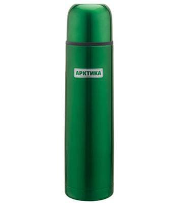 "яТермос ""Арктика"" с узким горлом 102-1000 (классический зеленый, 1000 мл)"