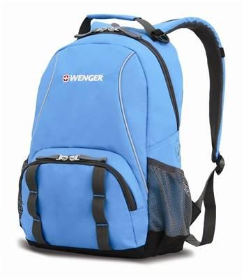 Рюкзак Wenger 12903415 серый/голубой 32х14х45 см (22л)
