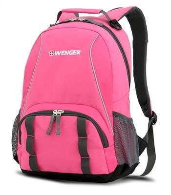 Рюкзак Wenger 12908415 серый/розовый 32х14х45 см (22л)