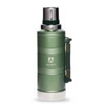 """Термос """"Арктика"""" с узким горлом 106-2200Р (американский дизайн, зелёный, с ручкой, 2200 мл)"""