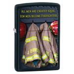 яЗажигалка Zippo 28316 Fireman Coats Black Matte
