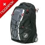 Рюкзак Wenger 3053204461 на колесах черный /серый  60х35х50см (36л)