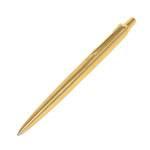 Шариковая ручка Parker Jotter, позолоченная 24К, в бархатном футляре, с сертификатом, арт. 3