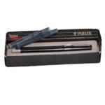 Перьевая ручка Parker Vector, 1995г., в ориг. коробке + 2 черн. картр., перо нерж. сталь,  арт.51-1