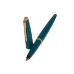 """Перьевая ручка Parker 45, 1962г., + конвертер, перо позолоч.""""F"""", состояние отл., арт. 64"""