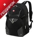 """Рюкзак Wenger 3263204410 черный/серый с отделением для ноутбука15"""" 34х17х47 (26л"""