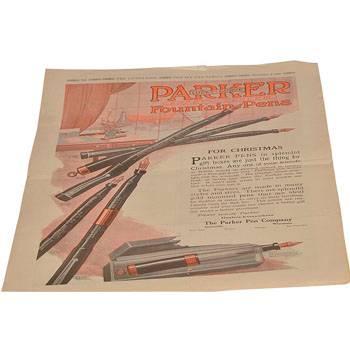 """Статья """"For Christmas"""", ориг., из журнала за 1920г., 28,5х41см, арт.69"""