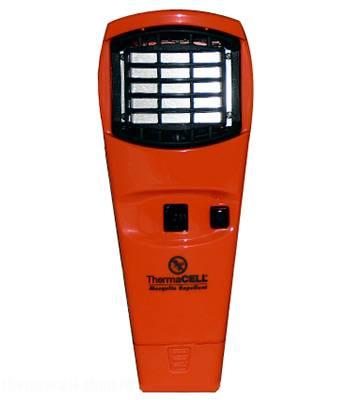 Отпугиватель комаров ThermaCELL (цвет:оранжевый) MR O06-00  (+ 1 газовый картридж и 3 пластины)