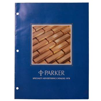 Каталог Parker Specialty Advertising Catalog, оригинальный за 1978г., 21,5х28см, 15 стр., арт.144